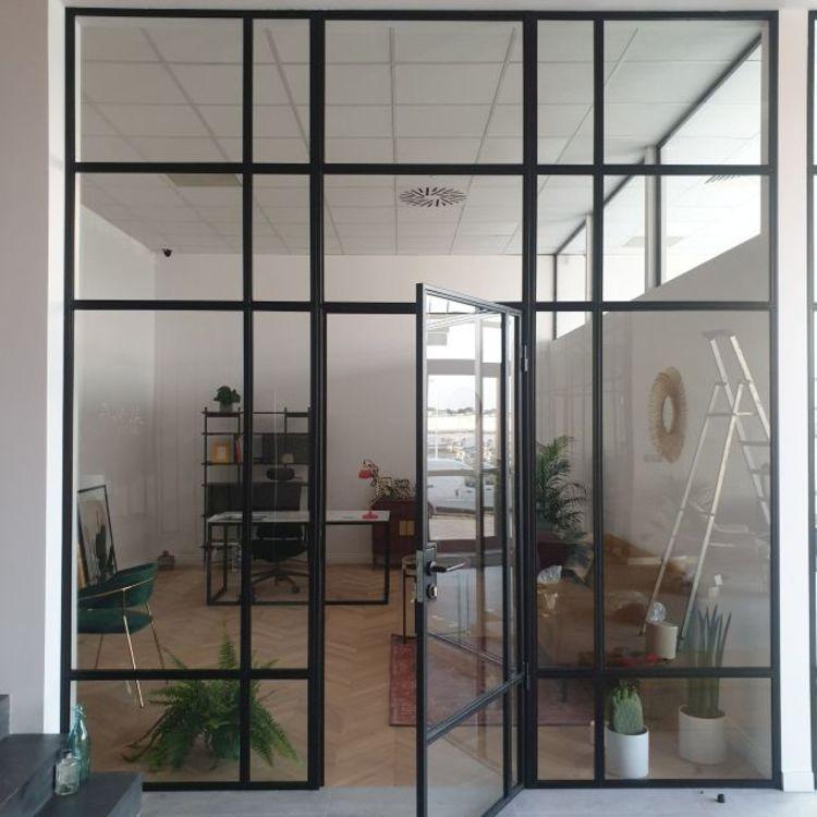 Szklane ściany loftowe z drzwiami industrialne producent LOFT Lublin Bydgoszcz
