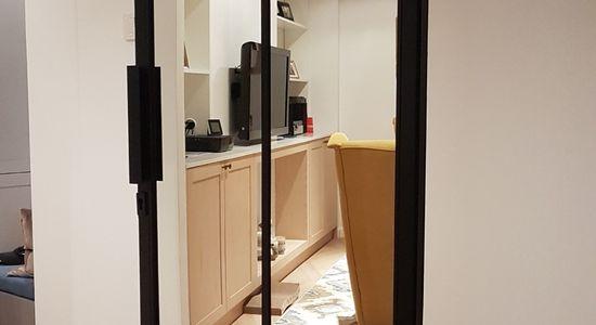 Drzwi do łazienki LOFT loftowe czarne industrialne Warszawa 5