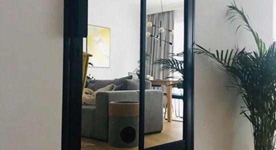 Drzwi do łazienki LOFT loftowe czarne industrialne Warszawa 7