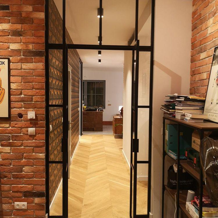 Drzwi dwuskrzydłowe loft industrialne producent Mag Haus Warszawa Bydgoszcz