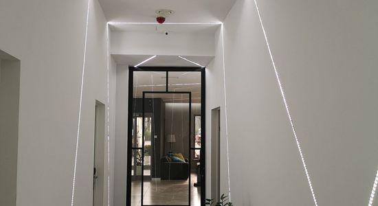 Drzwi industrialne LOFT z zamkiem Hotel Nad Kanałem Bydgoszcz Mag Haus producent 7