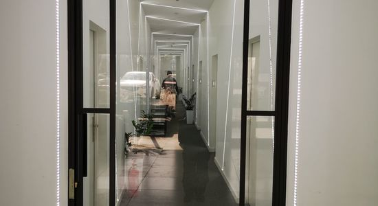 Drzwi industrialne LOFT z zamkiem Hotel Nad Kanałem Bydgoszcz Mag Haus producent 5