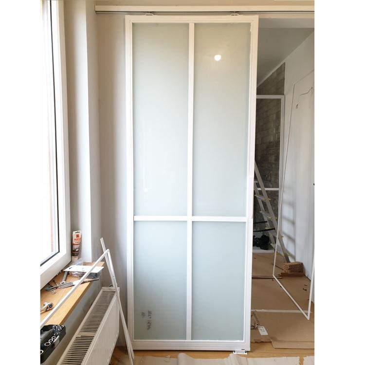 Białe drzwi LOFT przesuwne loftowe industrialne Warszawa Bydgoszcz a
