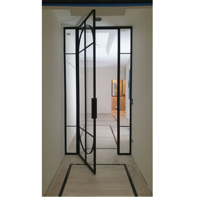 Drzwi szklane ściany industrialne jednoskrzydłowe LOFT loftowe Olsztyn Bydgoszcz producent