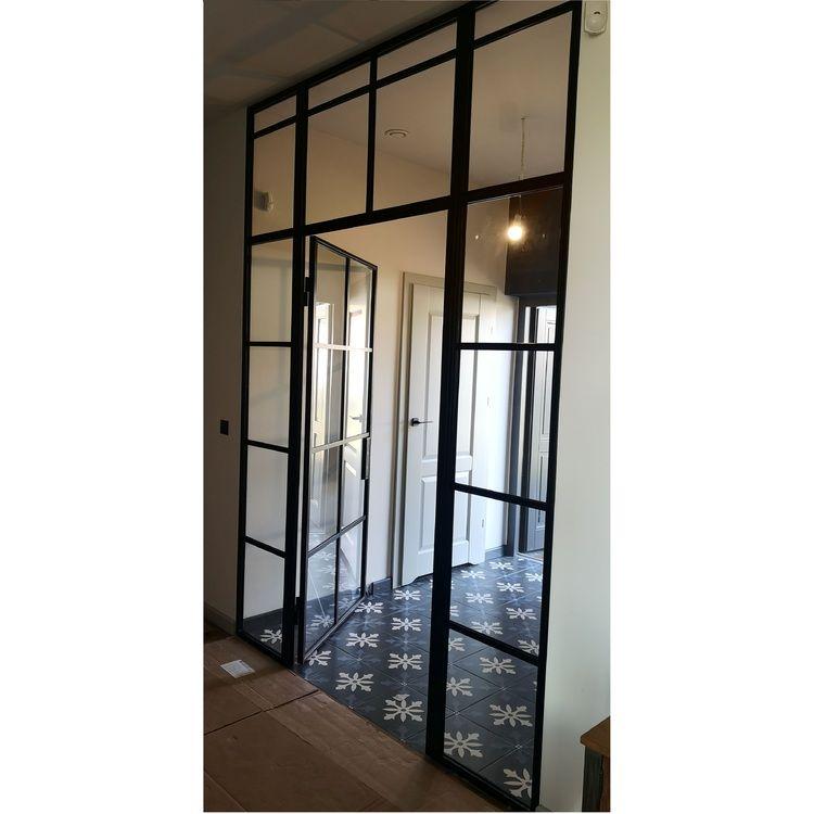 Ściana ze szkła szklana producent drzwi LOFT loftowych metalowych Toruń Bydgoszcz