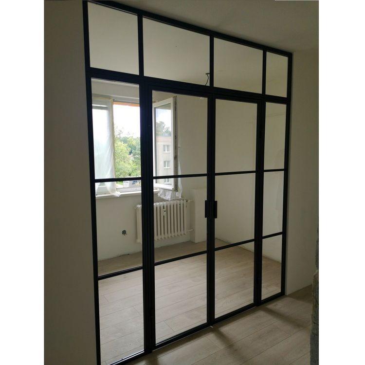 ściany ścianki industrialne loftowe loft szklane przeszklone drzwi mag haus meble do biur i restauracji szklane przeszklone producent ścianek ścian i drzwi warszawa lodz ostrava 1