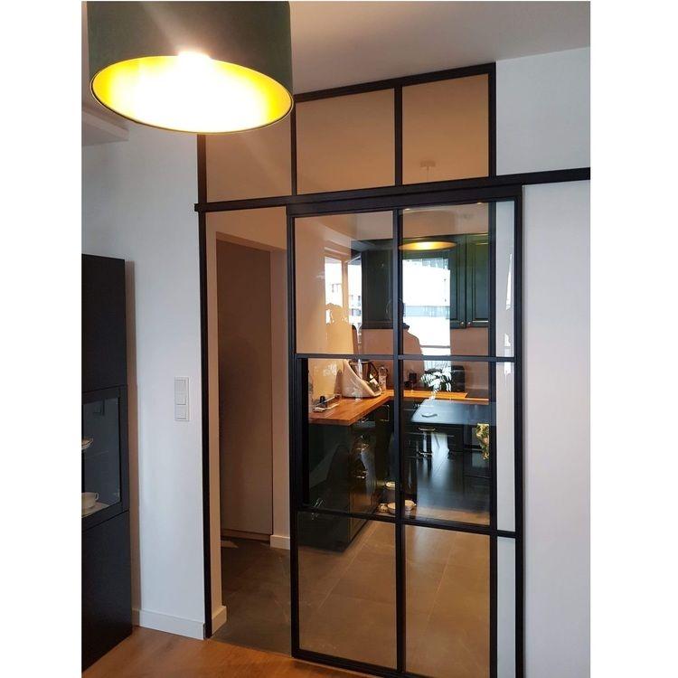 drzwi industrialne loftowe przesuwne kraków bydgoszcz loft stalowych ramach szklane producent mag haus z oknami 1